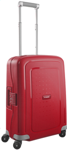 Samsonite Harde reistrolley S'Cure Spinner crimson red 55 cm-Vooraanzicht
