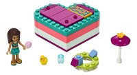 LEGO Friends 41384 La boîte cœur d'été d'Andréa-Avant