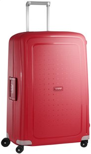 Samsonite Harde reistrolley S'Cure Spinner crimson red 75 cm
