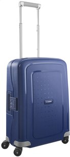 Samsonite Harde reistrolley S'Cure Spinner dark blue 55 cm
