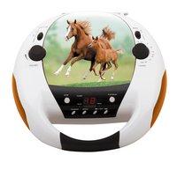 bigben draagbare radio/cd-speler CD52 Paarden 2