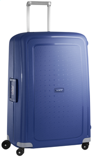 Samsonite Harde reistrolley S'Cure Spinner dark blue 75 cm-Vooraanzicht