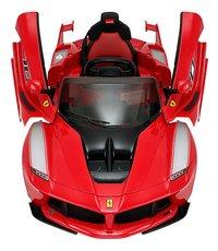 Voiture électrique Ferrari LaFerrari FXXK-Vue du haut