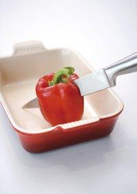 Le Creuset plat à gratin rouge cerise 24 x 16 cm-Image 2