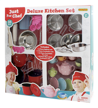 Accessoires de cuisine Deluxe 35 pièces-Côté droit