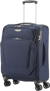 Samsonite Valise souple Spark Spinner dark blue 55 cm-Avant