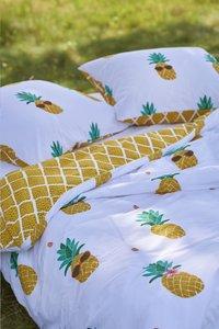 Covers & Co Dekbedovertrek Pineapple katoen 140 x 220 cm-Artikeldetail
