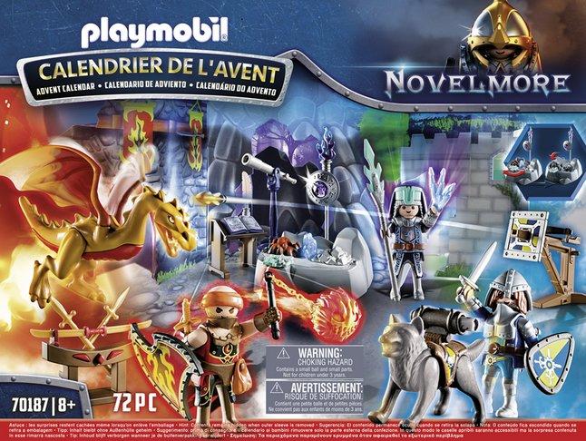 Calendrier De L Avent Playmobil Pas Cher.Playmobil Novelmore 70187 Calendrier De L Avent Duel De Chevaliers