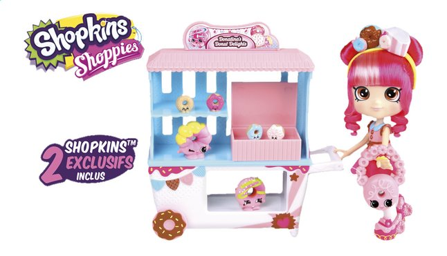 Image pour Shopkins set de jeu Shoppies Donatina's Donut Delights à partir de ColliShop