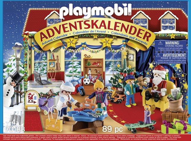 Afbeelding van PLAYMOBIL 70188 Adventskalender Speelgoedwinkel from ColliShop