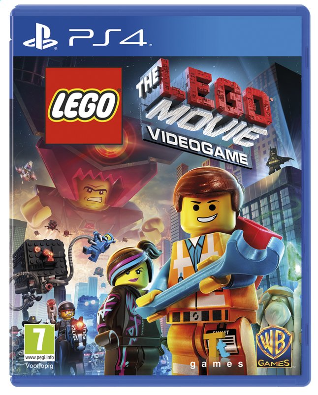 Afbeelding van PS4 LEGO: The LEGO Movie Videogame ENG/FR from ColliShop