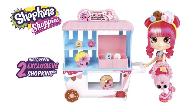 Afbeelding van Shopkins speelset Shoppies Donatina's Donut Delights from ColliShop