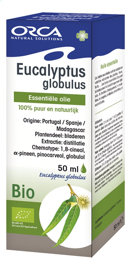 Afbeelding van Orca Bio etherische olie 50 ml eucalyptus globulus from ColliShop