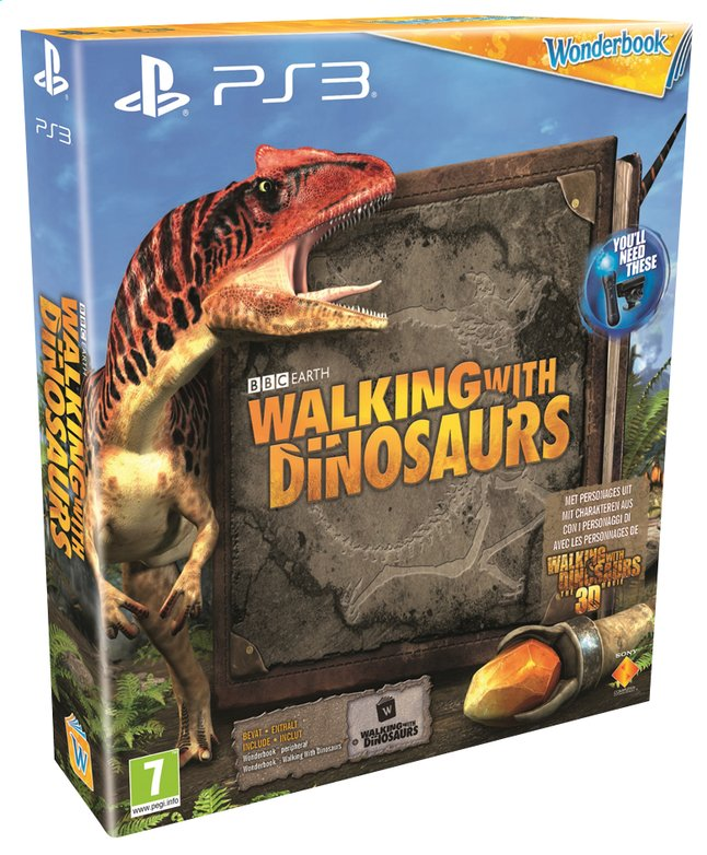 Afbeelding van PS3 Wonderbook: Walking with Dinosaurs ENG/FR from ColliShop