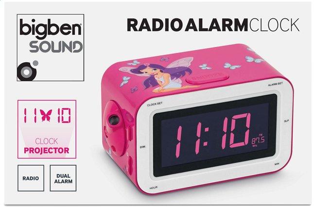 Afbeelding van Bigben wekkerradio RR30 Fairy roze from ColliShop