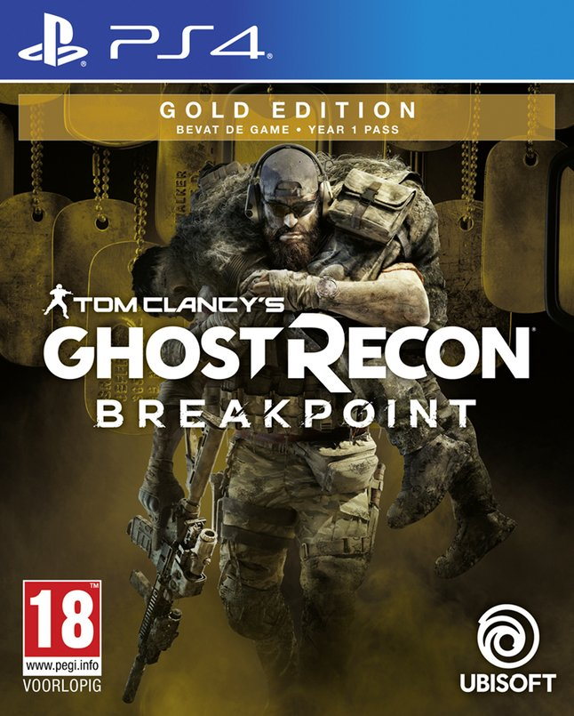 Afbeelding van PS4 Tom Clancy's Ghost Recon Breakpoint Gold Edition ENG/FR from ColliShop
