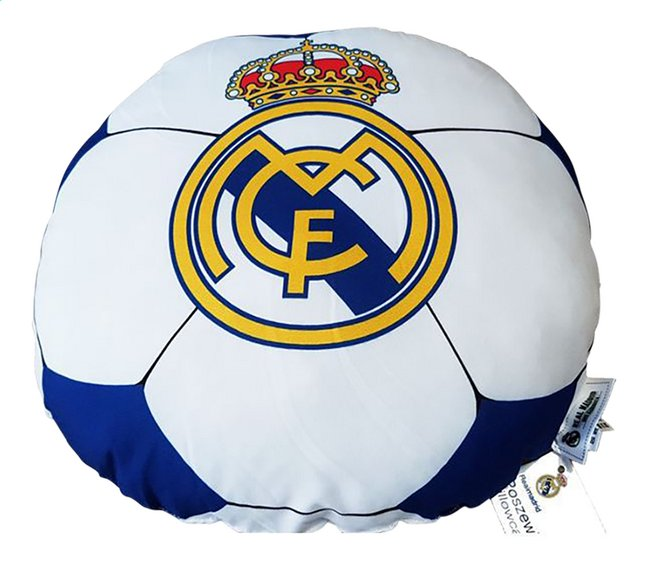 Image pour Coussin rond Real Madrid à partir de ColliShop