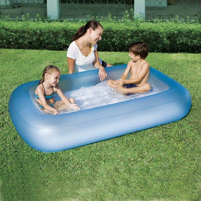 Image pour Bestway piscine pour bébé Aquababes bleu à partir de ColliShop