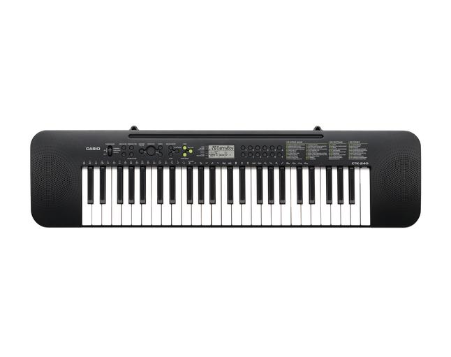 Afbeelding van Casio keyboard CTK-240 from ColliShop