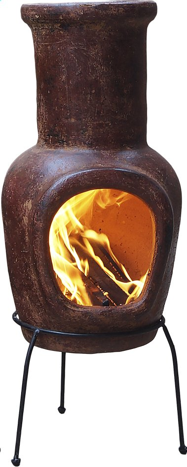 Afbeelding van Mexicaanse chimenea small rood from ColliShop