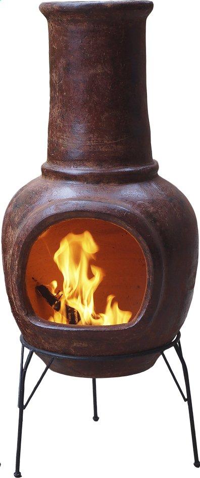 Image pour Cheminée mexicaine medium rouge brun à partir de ColliShop