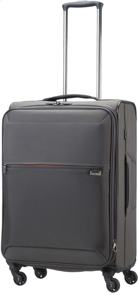 Image pour Samsonite Valise souple Short-Lite Spinner platin grey à partir de ColliShop