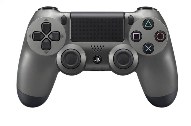 Afbeelding van PS4 controller DualShock Wireless Steel Black from ColliShop