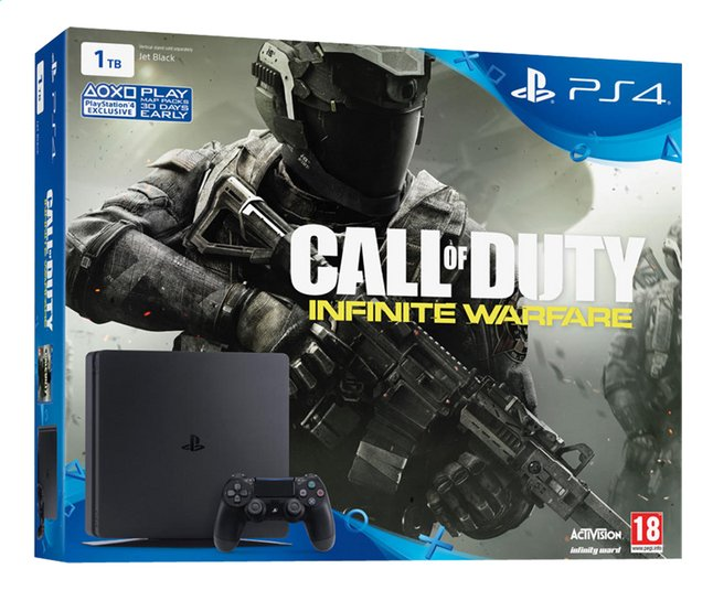 Afbeelding van Playstation 4 console 1TB + Call of Duty Infinite Warfare from ColliShop