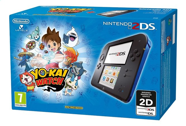 Afbeelding van Nintendo 2DS console + Yo-Kai Watch pre-installed from ColliShop