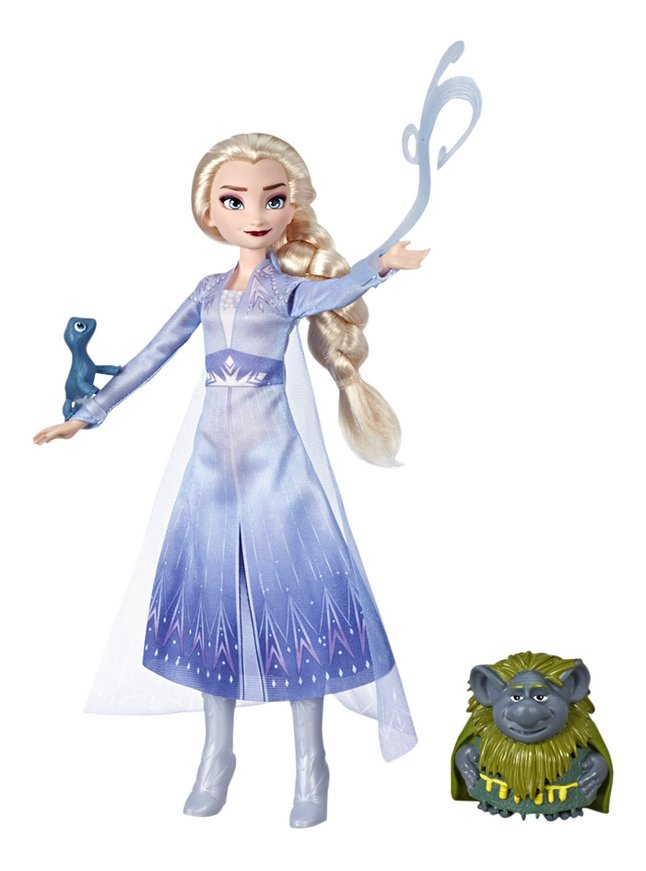 Image pour Disney La Reine des Neiges II Elsa, Grand-père et Salamandre à partir de ColliShop