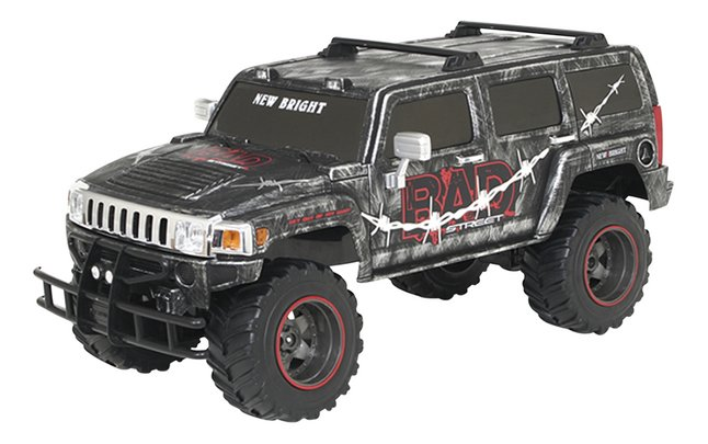 Afbeelding van Auto RC jeep Bad Street Hummer grijs from ColliShop