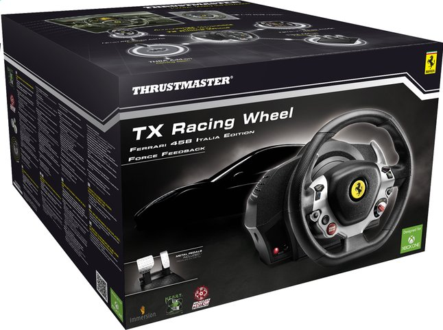 Afbeelding van XBOX One Racing Wheel Ferrari 458 Italia Edition from ColliShop