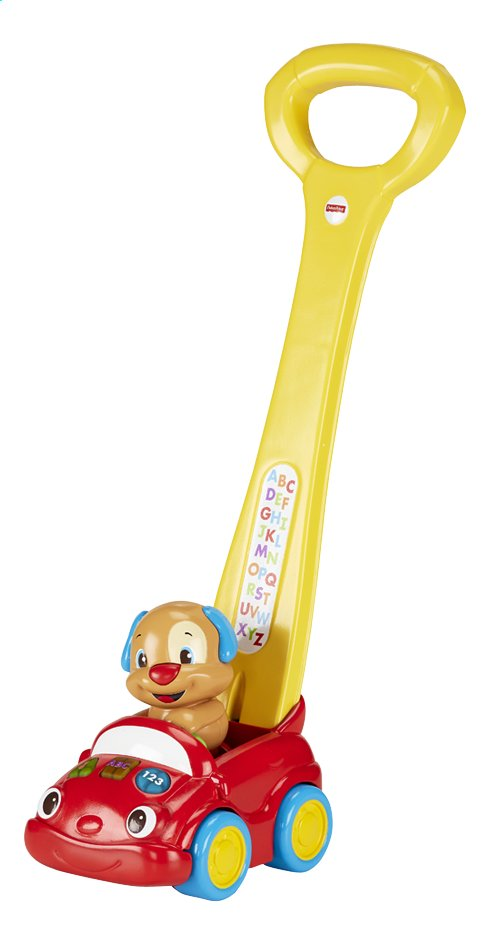 Afbeelding van Fisher-Price Laugh & Learn Puppy's Smart Stages Push Car from ColliShop