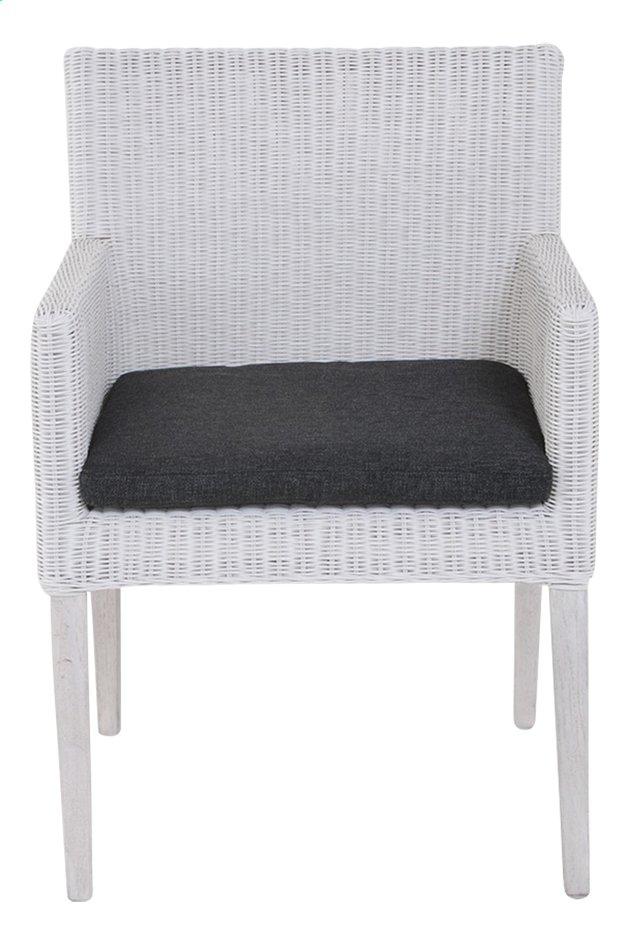 Image pour Fauteuil de jardin Malaga gris clair/Grey Wash à partir de ColliShop