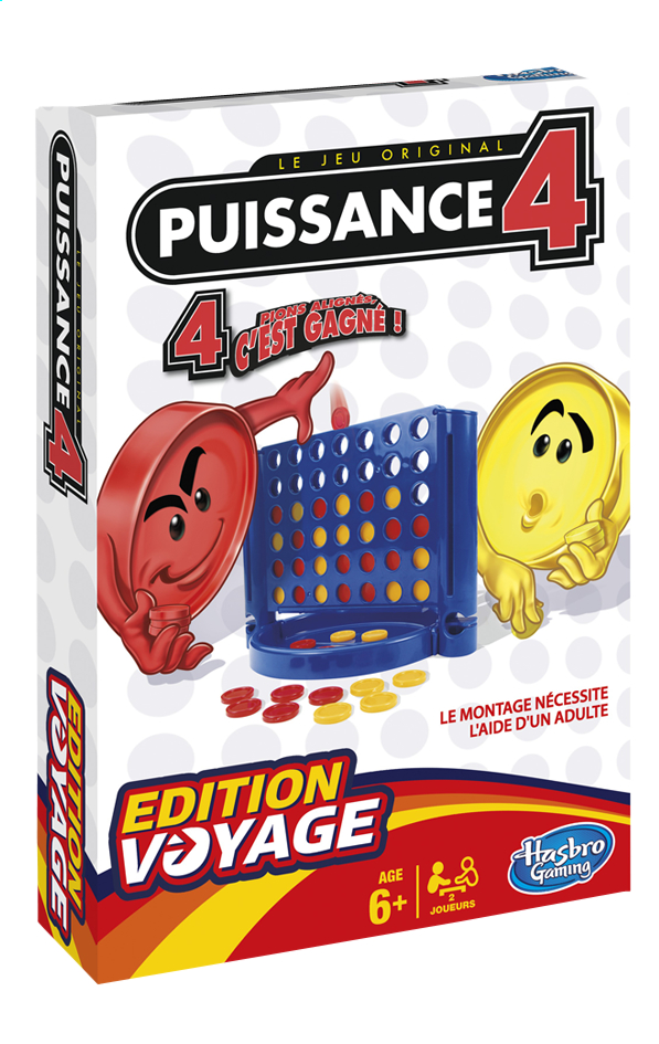 Afbeelding van Puissance 4 Édition Voyage FR from ColliShop