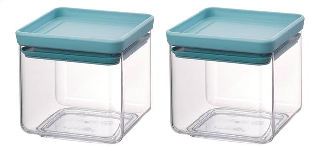 Image pour Brabantia 2 boîtes à provisions Tasty Colours mint 0,7 l à partir de ColliShop