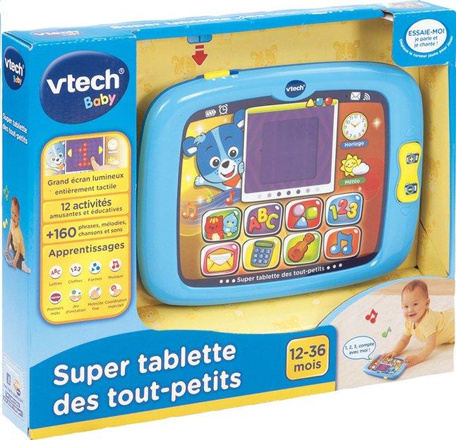 Afbeelding van VTech Super tablette des tout-petits Nino bleu from ColliShop