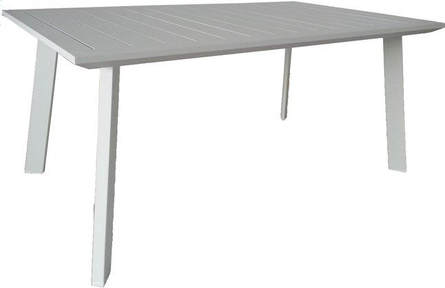 Image pour Table de jardin Nice blanc 165 x 100 cm à partir de ColliShop