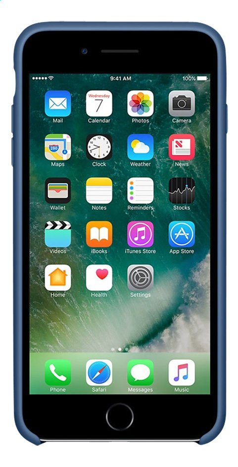 Afbeelding van Apple silicone backcover voor iPhone 7 Plus Ocean Blue from ColliShop