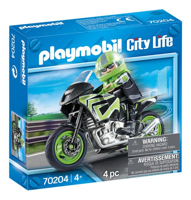 Afbeelding van PLAYMOBIL City Life 70204 Motorrijder from ColliShop