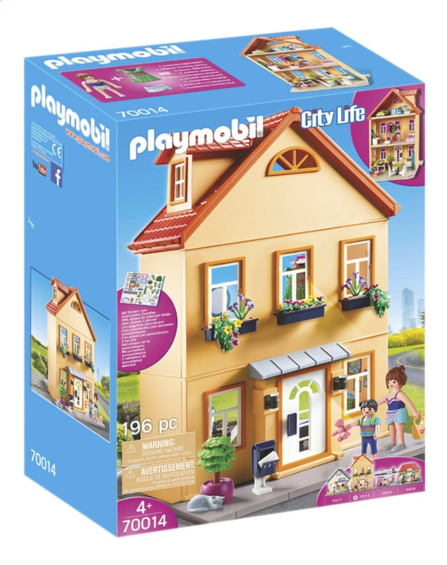 playmobil city life 70014 maison de ville collishop. Black Bedroom Furniture Sets. Home Design Ideas