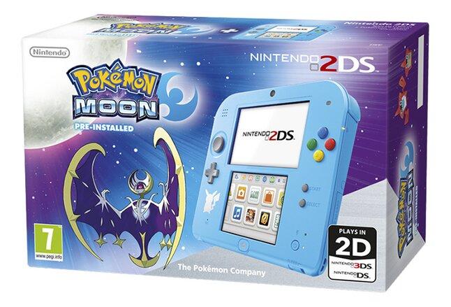 Image pour Nintendo 2DS console + Pokémon Lune préinstallé à partir de ColliShop