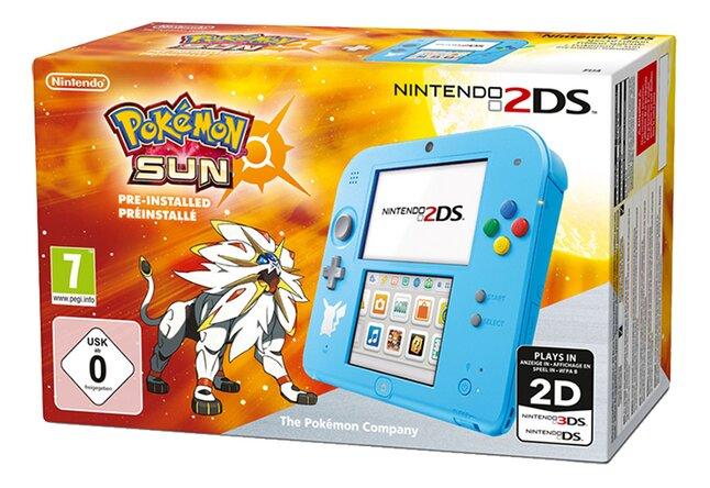 Image pour Nintendo 2DS console + Pokémon Soleil préinstallé à partir de ColliShop