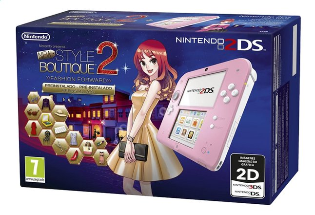 Afbeelding van Nintendo 2DS console + New Style boutique 2 pre-installed from ColliShop