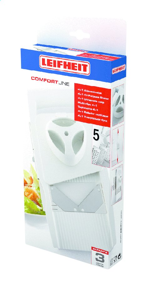 Afbeelding van Leifheit Rasp Comfort Line 4+1 from ColliShop