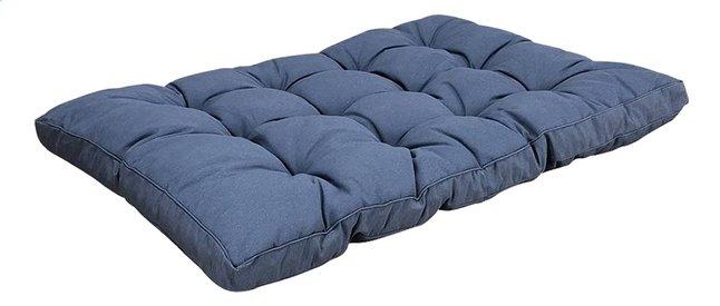 Image pour Madison coussin pour palette assise Florance 120 x 80 Saphir Blue à partir de ColliShop