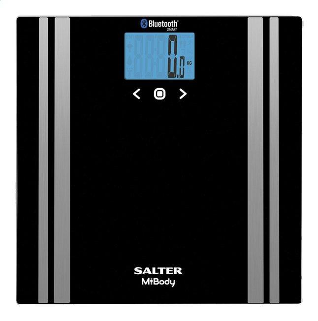Image pour Salter Pèse-personne/impédancemètre MiBody connect  9159 BK3R noir à partir de ColliShop
