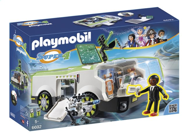 Afbeelding van Playmobil Super 4 6692 Kameleon met Gene from ColliShop
