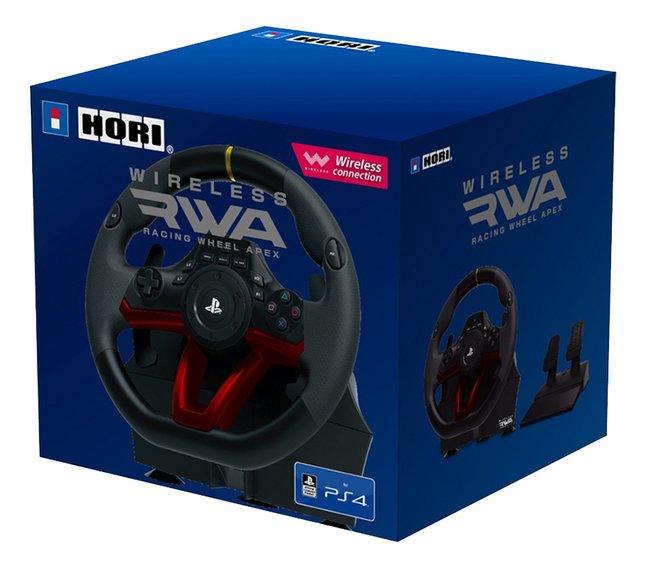 Hori volant de course avec pédales Wireless Racing Wheel Apex