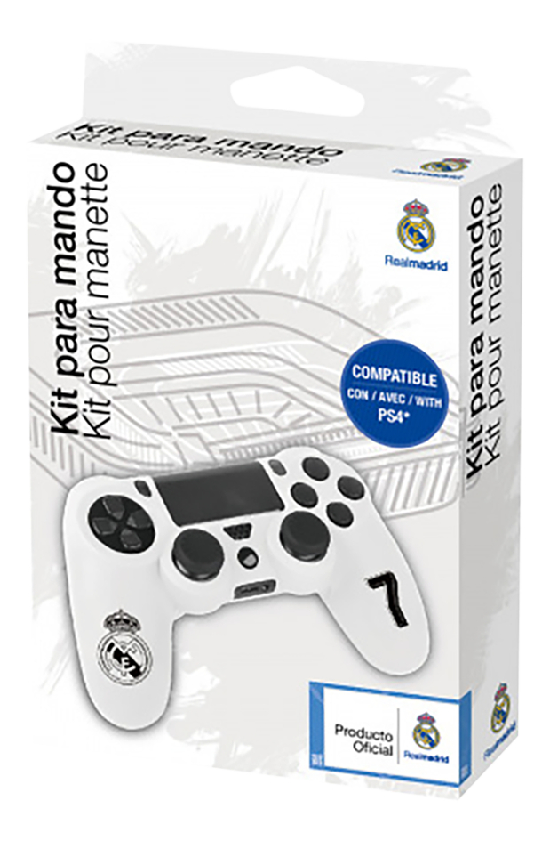 Subsonic Custom kit Real Madrid pour manette PS4